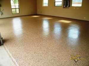 Our Garage Floor Coating Options Are Glossy And Nearly Indestructible