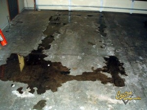 How To Remove An Oil Stain From A Garage Floor In 3 Steps