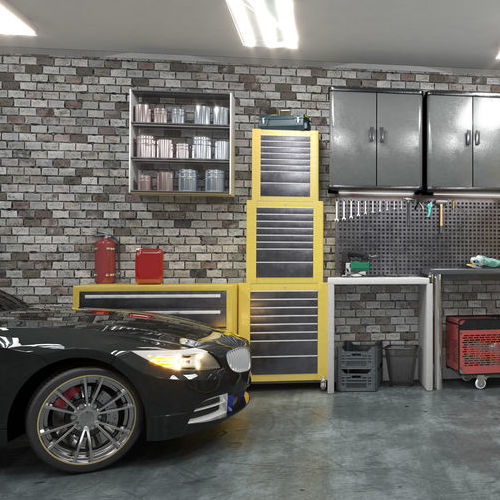 A Custom-Designed Garage.
