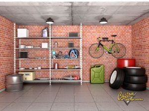 storage space in a garage
