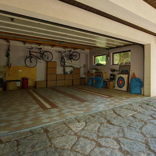 Garage With Some Garage Storage Solutions